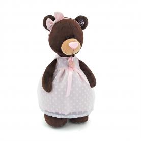 Медвежонок в платье с брошью фото