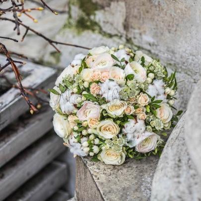 Букет невесты Мендельсон фото