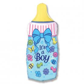 """Воздушный Шар """"Мини-фигура"""" (Бутылочка для мальчика) фото"""