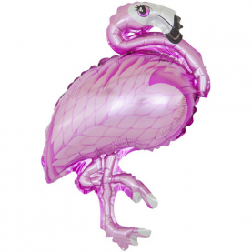 "Воздушный Шар ""Мини-фигура"" (Фламинго, розовый) фото"
