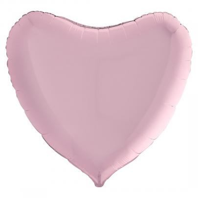 """Воздушный Шар """"Мини-Сердце"""" (Розовый) фото"""
