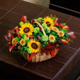 Корзина Краски Осени фото