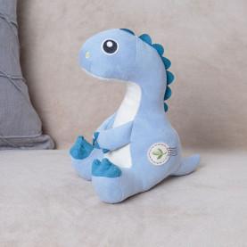 Мягкая игрушка Динозавр Голубой фото