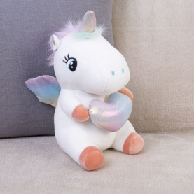 Мягкая игрушка Единорог (23 см.) фото