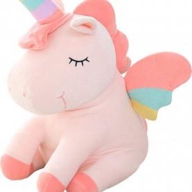 """Мягкая игрушка Единорог """"Розовый"""" (22 см.) фото"""