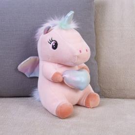 """Мягкая игрушка Единорог """"Розовый"""" (23 см.) фото"""
