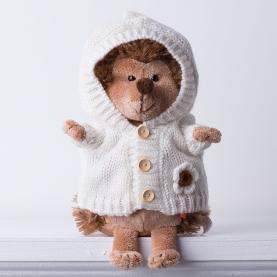 Мягкая игрушка Ежинка Колючка: Вечер у камина фото