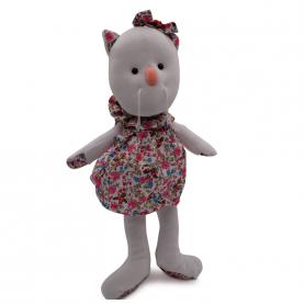 """Мягкая игрушка Кошечка Люсси """"Белый"""" (40 см.) фото"""