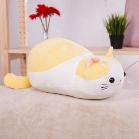 """Мягкая игрушка Кошка """"Желтый"""" (34 см.) фото"""