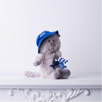 Мягкая игрушка Кот Обормот: Рыбак фото