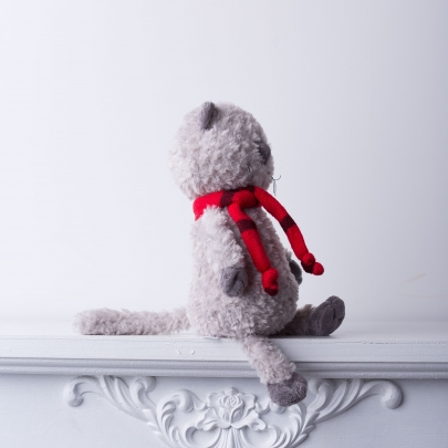 Кот Обормот в шарфике фото