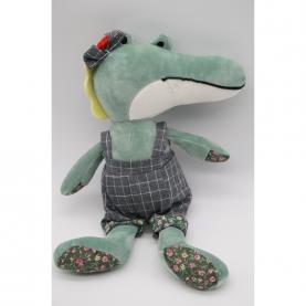 """Мягкая игрушка Крокодил Семен """"Зеленый"""" (40 см.) фото"""