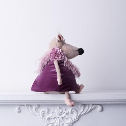 Мягкая игрушка Крыса Изольда фото