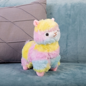 """Мягкая игрушка Лама """"Разноцветная"""" (45 см.) фото"""