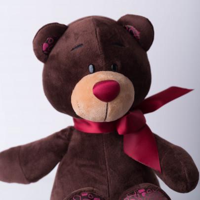 Мягкая игрушка Медведь Choco сидячий фото