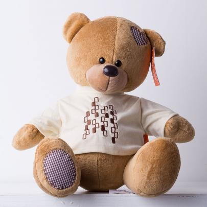 Мягкая Игрушка Медведь Топтыжкин коричневый (30 см.) фото