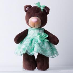Мягкая игрушка Медведь: Вишня и мята  фото