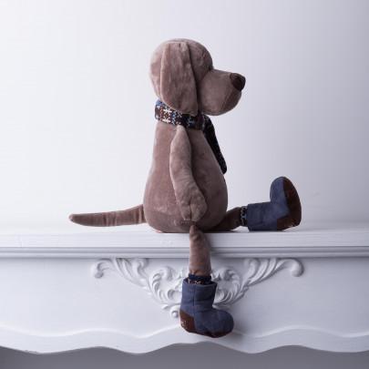 Мягкая игрушка Пес Барбоська в уггах фото