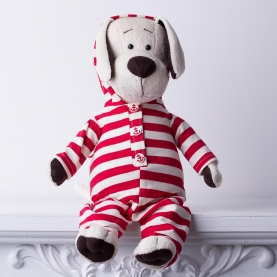 Мягкая игрушка Собачка Лапуська: Забавная пижама фото