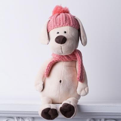 Мягкая игрушка Собачка Лапуська: Зимние приключения фото