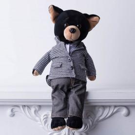 Мягкая игрушка Собачка Lucky Buzz: Современная классика фото