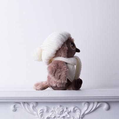 Мягкая Игрушка Сова Соня Модница фото