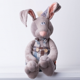 Мягкая игрушка Зайка Миша фото