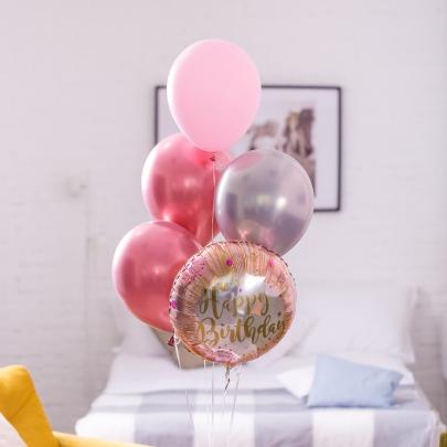 """Набор Воздушных Шаров """"Happy Birthday"""" фото"""