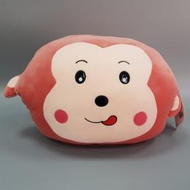 Мягкая игрушка Обезьяна: Плед, Подушка, Муфточка (45 см.) фото