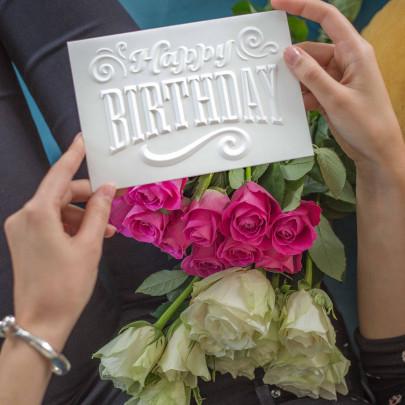 """Открытка """"Happy Birthday"""" фото"""