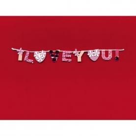 """Открытка """"I LOVE YOU"""" фото"""