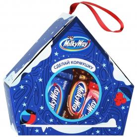 """Подарочный набор Конфет """"Milky Way"""" Кормушка 155 г фото"""