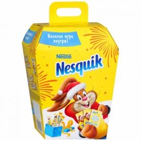 """Подарочный набор конфет """"Nesquik"""" c настольной карточной игрой 134 г фото"""