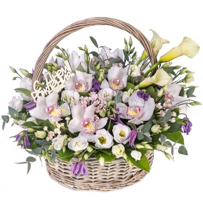 Корзина цветов  Поэзия фото