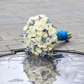 """Букет невесты """"Айвори"""" фото"""