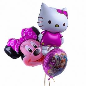 Воздушные шары для Девочки фото