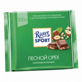"Шоколад ""Ritter Sport"", Лесной Орех 100 гр. фото"