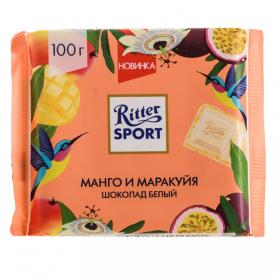 "Шоколад ""Ritter Sport"", Манго и Маракуйя (Белый) 100 гр. фото"