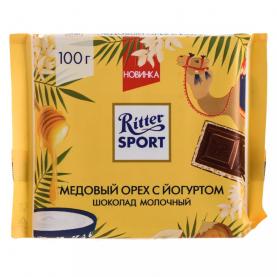 """Шоколад """"Ritter Sport"""", Медовый Орех с Йогуртом 100 гр. фото"""