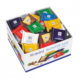 "Шоколад ""Ritter Sport"", Пестрый набор MINI 84 шт. фото"