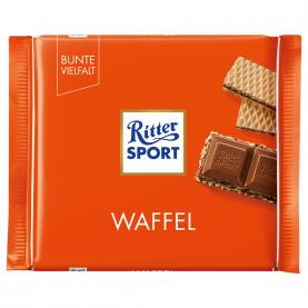 "Шоколад ""Ritter Sport"", Вафля 100 гр. фото"