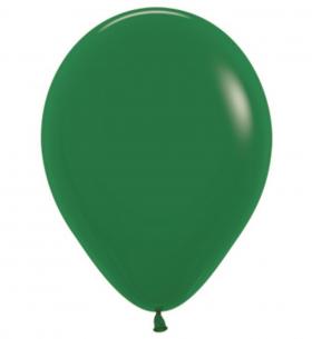 """Воздушный Шар """"Темно-зеленый"""", Пастель"""