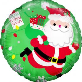 "Воздушный Шар ""Дед Мороз с подарками"" фото"