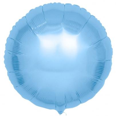 Воздушный Шар Бледно-Голубой фото