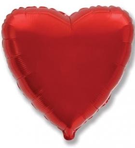 """Воздушный Шар """"Красное Сердце"""""""