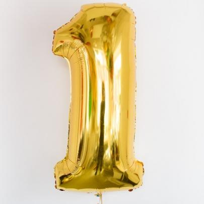 "Воздушный шар ""Цифра"" (102 см.) фото"