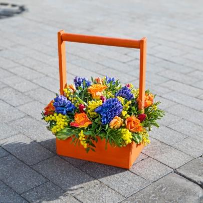 Букет Яркая Весна фото