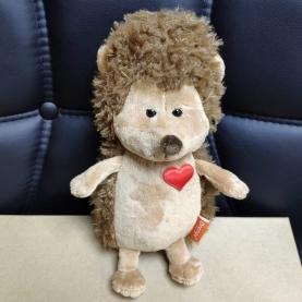 Мягкая игрушка Ёжик Колюнчик Влюбленное сердце (20 см.) фото