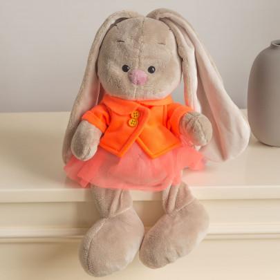 Зайка Ми в оранжевой куртке фото