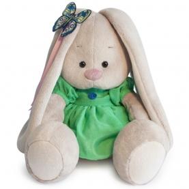 Мягкая игрушка Зайка МИ: В зеленом платье с бабочкой (18 см.) фото